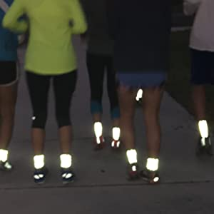 """reflective"""" reflectoes reflector rider running safety shirt shoe sock sockguy socks specialized"""