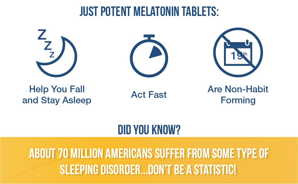 Help you fall asleep fast. About 70 Million Americans suffer from some type of sleeping disorder.