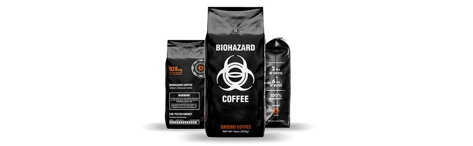 Biohazard Coffee 1lb (one pound) bag