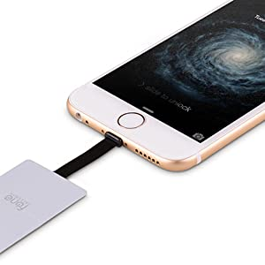 iQi Mobile - New & Improved 0.5mm Thin Qi Wireless Charging Receiver for iPhone 7, 7 Plus, 6S, 6S Plus, SE, 6, 6 Plus, 5, 5C, 5S For a Soft Case 13
