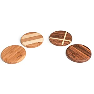 WoodPuck: Bamboo Edition Fast Wireless Charger, 7.5W Charging for iPhone XS, XS Max, XR, X, 8, 8 Plus,10W Fast Charger for Galaxy S9, S9 Plus, S8, S8+, Note 9, 8, 5 and Other Qi Phones (No AC Adapter) 12