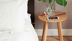 FurniQi Wireless Charging Side Table compatible with iPhone XS, XS Max, XR, X, 8, 8 Plus, Samsung Galaxy S9, S9+, S8, S8+, S7, S7 Edge, S6, S6 Edge, Note 9, 8, 5, LG V30S all other Qi-Enabled devices. 9