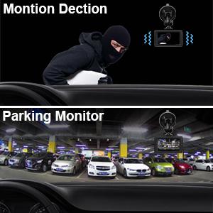 AROVA Dash Cam HD 1080P Dashboard Camera 170° Wide Angle Car Camera Dash  Camera for Cars with G-Sensor, Parking Mode, HDR, Loop Recording, Motion