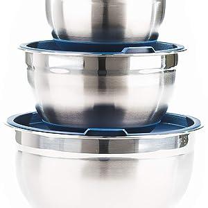 Tight seal lids