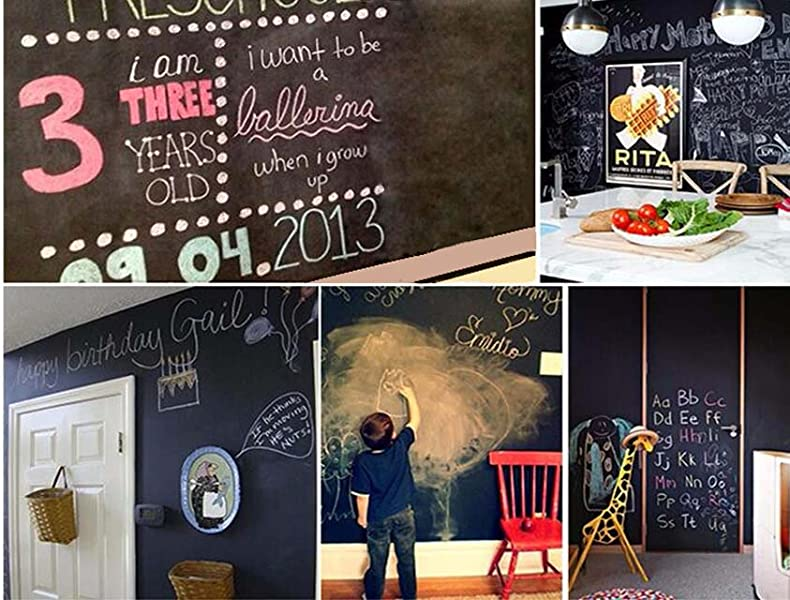 Get Your Vinyl Chalkboard Sticker Roll Today And Receive 5 FREE Sticks Of  Regular Chalk!