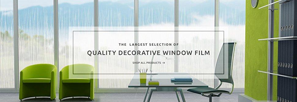 Amazon Com Fancy Fix Privacy Window Film Non Adhesive