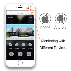 video doorbell with free app for remote view