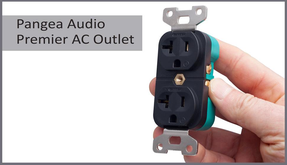 Pangea Audio Premier AC Outlet (20 Amp Black) - - Amazon.com