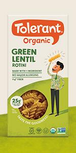green rotini
