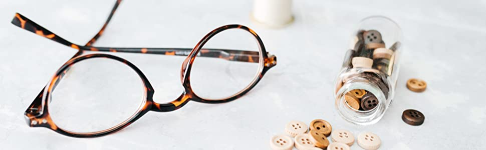 fully magnified reading glasses, readers, readers.com, the studio