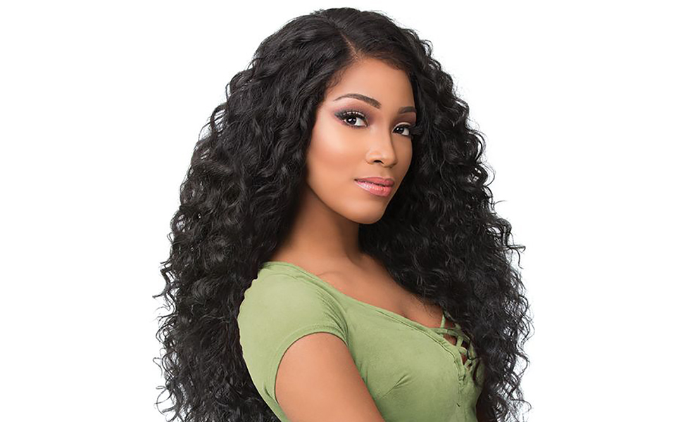 Synthetic Black Hair Wig