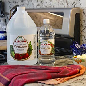 Lucys cooks white distilled vinegar
