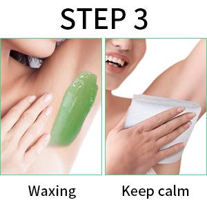 hair wax removal kit