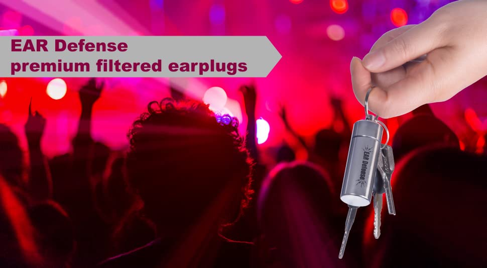 cea3cad4607c2d Amazon.com  Earplugs Noise Reduction Filtered Hearing Protection For ...