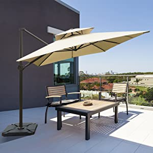 offset cantilever umbrella
