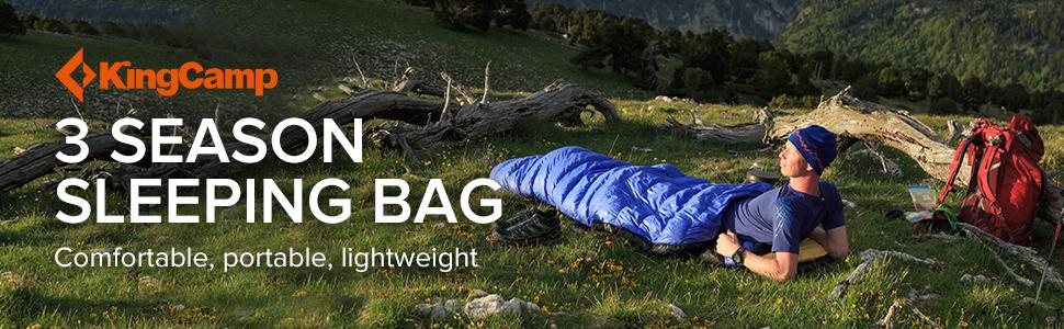 KingCamp sleeping bag