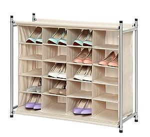 Amazon.com: StorageManiac Organizador de zapatos de 5 ...