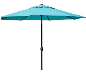 Abba patio 9 39 patio umbrella outdoor table for Patio table umbrella 6 foot