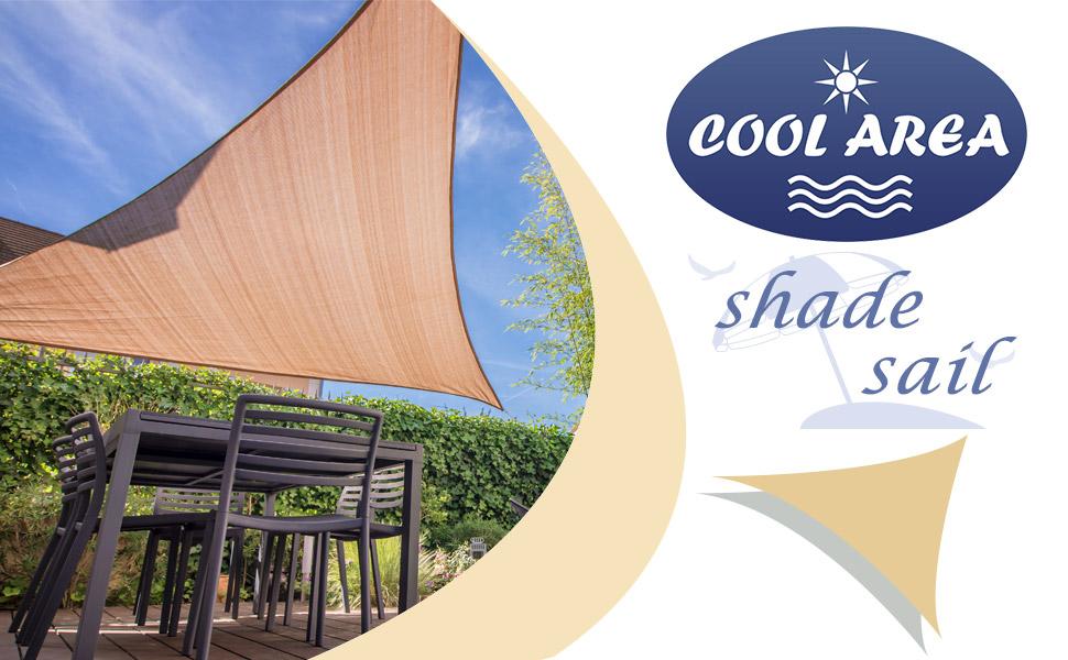 cool area right triangle sun shade sail - Sun Shade Sail