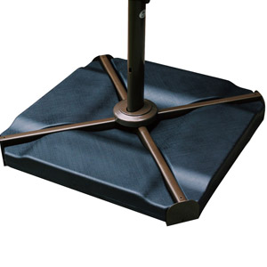 Keep Your Cantilever Umbrella Steady In Harsh Weather And High Winds With  The Abba Patio Heavy Duty Water Or Sand Cantilever Weighted Umbrella Base    Set Of ...