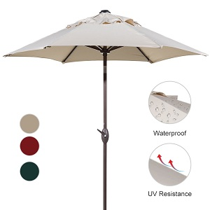 ... EU Standard Grade 4 Min. At 1000 Hours. Available In Colors: Beige,  Red, Dark Green Whatu0027s Included: 7.5ft Patio Umbrella, User Manual