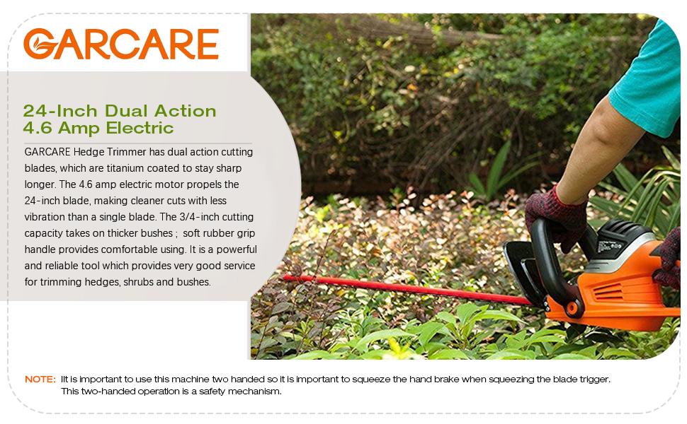 Amazon.com: GARCARE, desbrozadora con cable y hoja de sierra ...