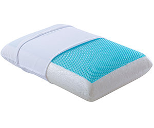 Amazon Com Comfort Amp Relax Reversible Memory Foam Gel