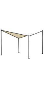 Amazon Com Abba Patio Garden Gazebo 13 X 11 5 Soft Top Outdoor