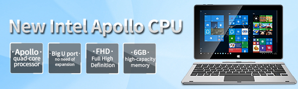 Jumper EZpad 6s pro 2 in 1 Tablet