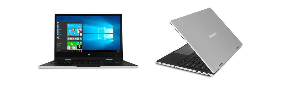 EZbook X1 11.6 Inch FHD IPS Touchscreen Laptop