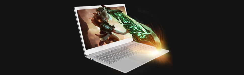EZbook X4 features intel new generation Gemini Lake laptop processor