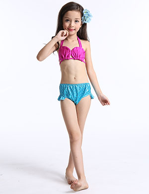 Amazon.com: JFEELE 3pcs Toddler Mermaid Swimsuit for Baby