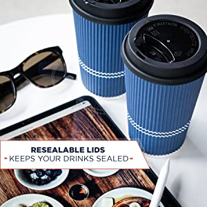 to go coffee cups with lids
