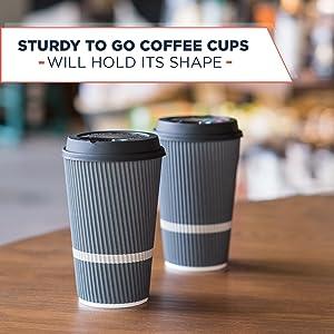 coffee cups with lids 16 oz 16oz