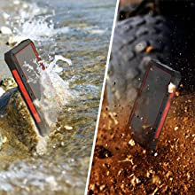 solar wireless power bank waterproof