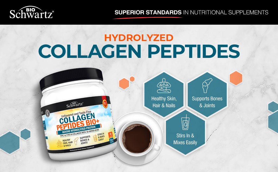 BioSchwartz Hydrolyzed Collagen Peptides