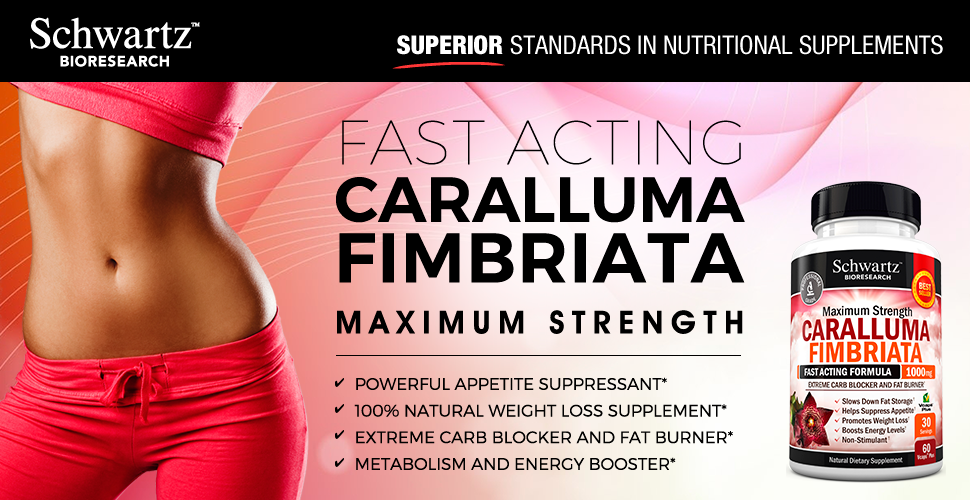 Appetite Suppressant Pure Caralluma Fimbriata Extract 1000mg All Natural  Weight Loss Pills