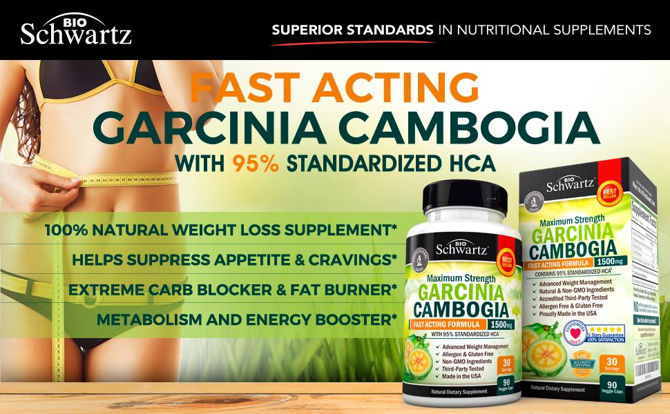 Amazon.com: Garcinia Cambogia 95% HCA Pure Extract with ...