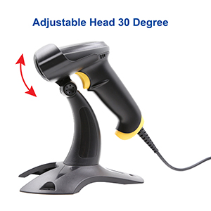 adjustable head easy to operate automatic scanner