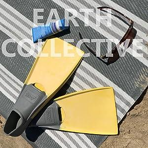 Amazon.com: Tapete reciclado fácil de limpiar para ...