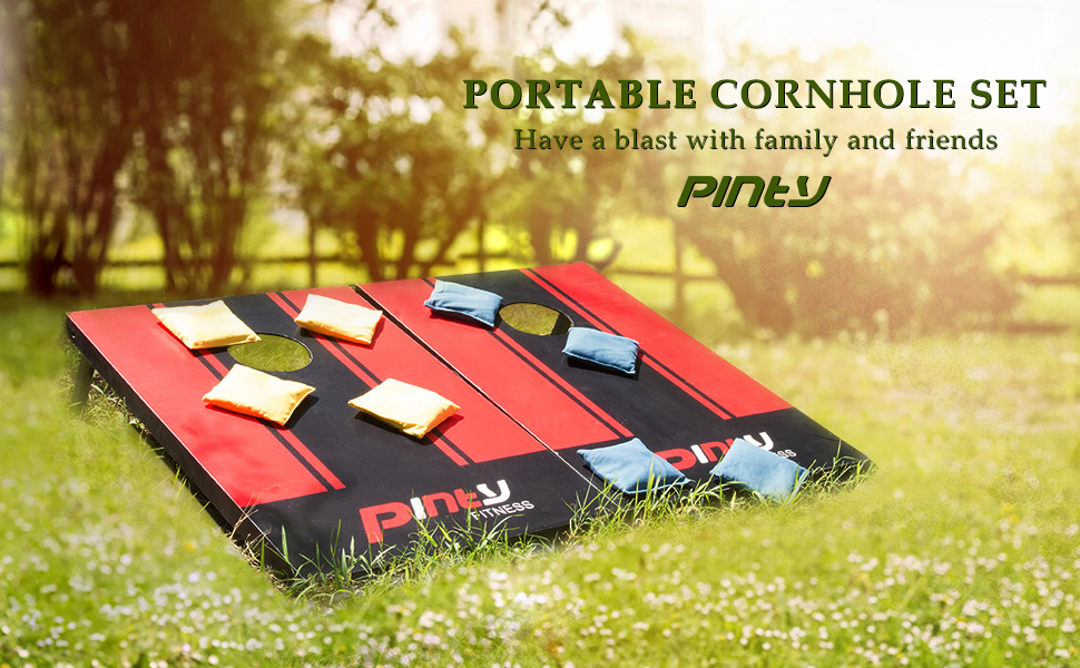 Our Cornhole Bean Bag Game Set Is Assembled To The Highest Quality  Standards To Ensure The Most Genuine Cornhole Game Play. Red U0026 Yellow  Colored Bean Bags ...