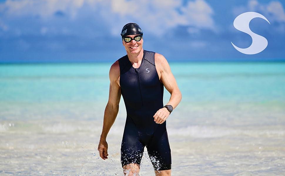 Synergy Triathlon Tri Suit Mens Trisuit