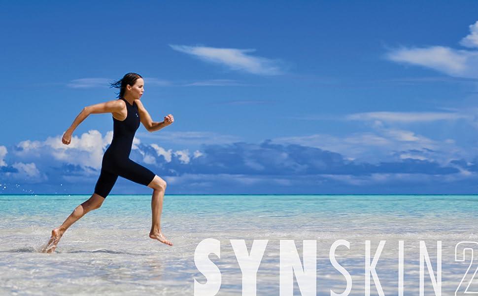 Amazon.com: Synergy Triathlon Swimskin - Bañador para mujer ...