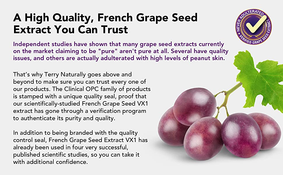 French Grape Seed Extract VX1