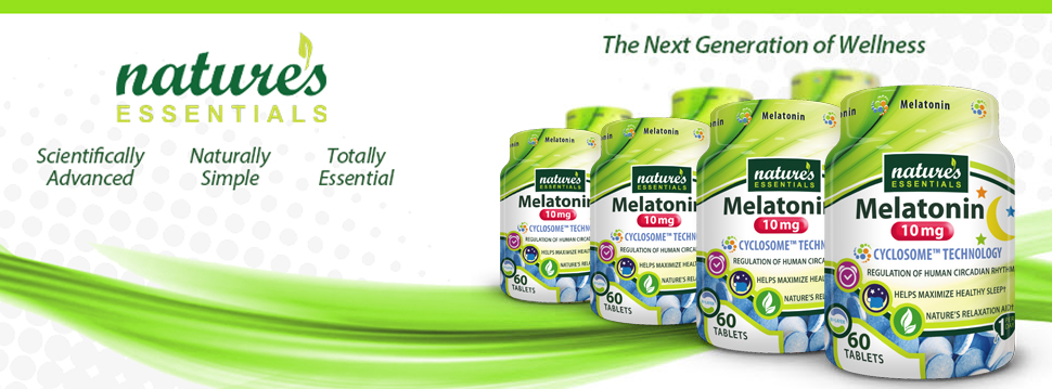 Why Natures Essentials Melatonin?