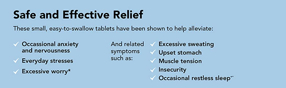 Safe and effective relief