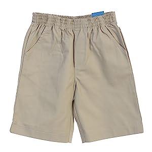 M17 Boy Kids Children Jersey Shorts Summer Lightweight Casual Side Back Pocket Elasticated Drawcord Waistband