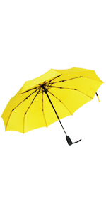 yellow travel umbrella ...