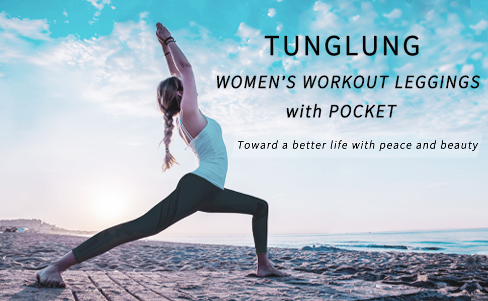 workout leggings for women with pocket yoga pants