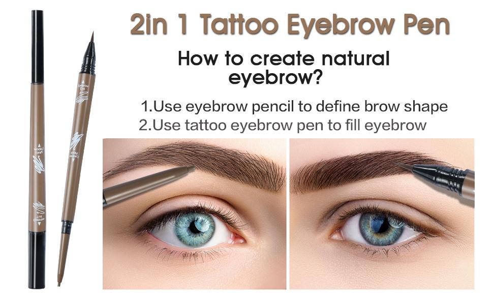 Amazon Tattoo Eyebrow Pen By Prettydiva Waterproof Long